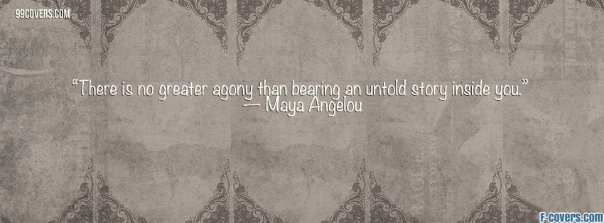 maya angelou facebook cover