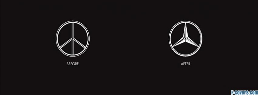 Hippie Peace Facebook Covers mercedes benz peace si...