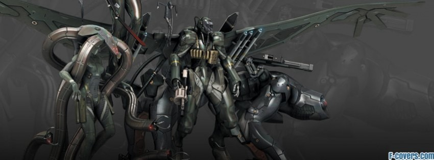 metal gear solid 4 corps facebook cover