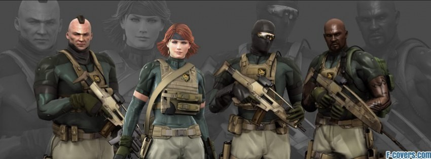 metal gear facebook cover timeline photo banner for fb