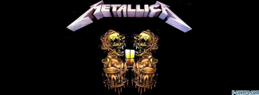 metallica facebook cover