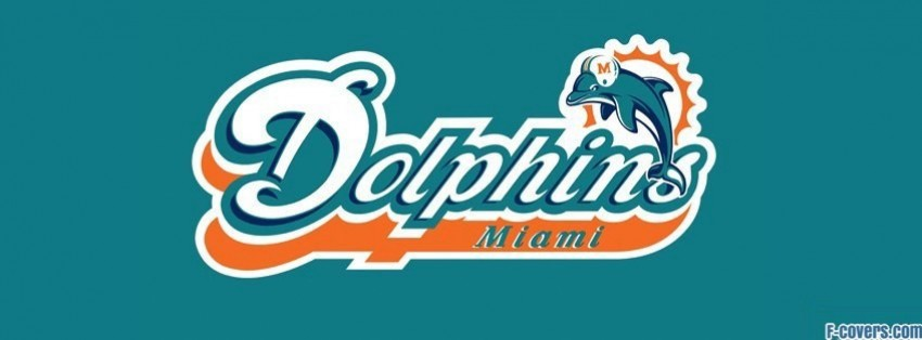 Miami Dolphins Logo Facebook Cover Timeline Photo Banner