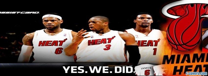 miami heat facebook cover