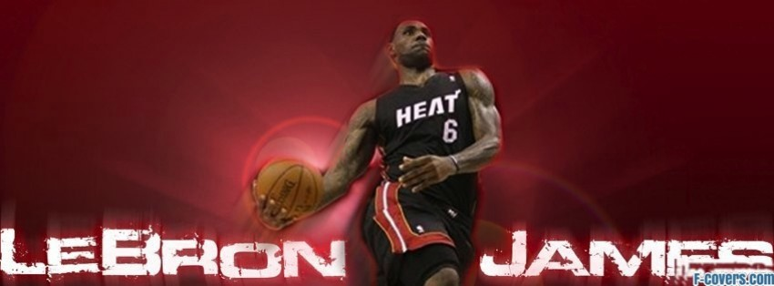 miami heat lebron james facebook cover