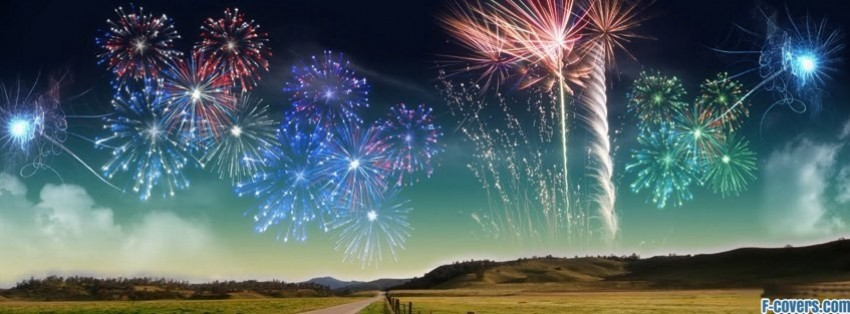 middle of no where fireworks facebook cover