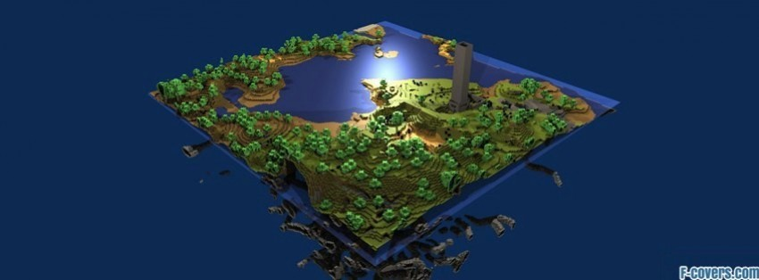 minecraft map Facebook Cover timeline photo banner for fb
