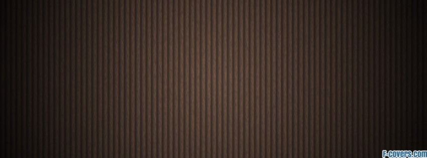 minimalistic brown stripes pattern facebook cover