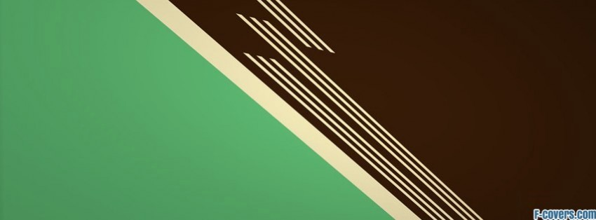 minimalistic retro lines simple stripes pattern facebook cover