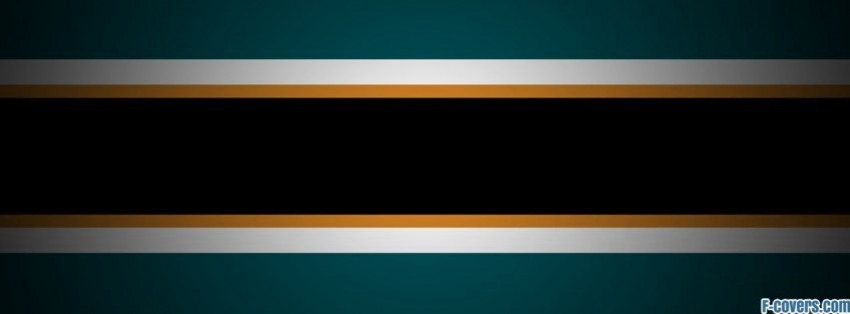 minimalistic sports striped texture hockey san jos facebook cover