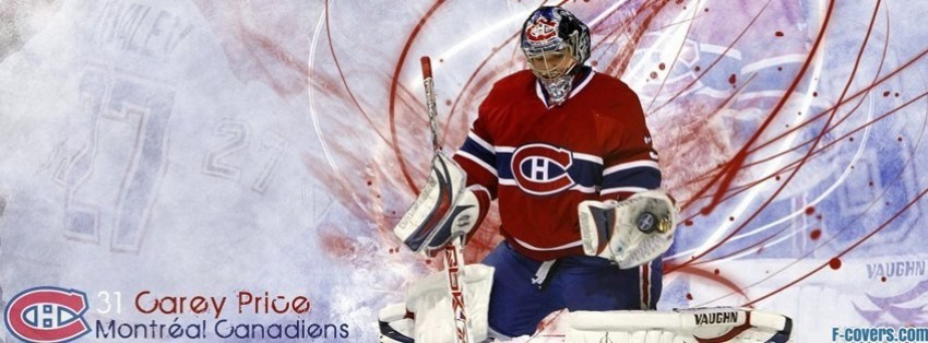 montreal canadiens carey price facebook cover