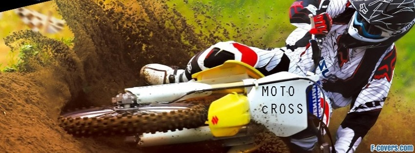 motor cross side facebook cover