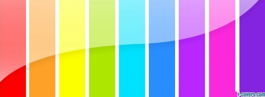 multicolor pattern striped texture rainbow stripes facebook cover