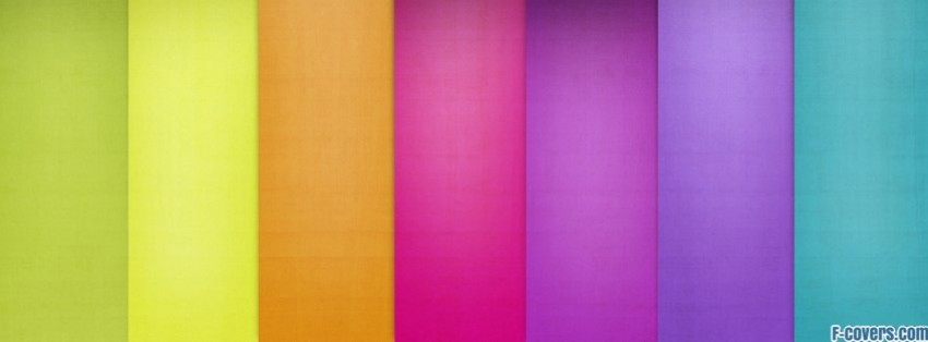 multicolor thick stripes pattern 6 facebook cover