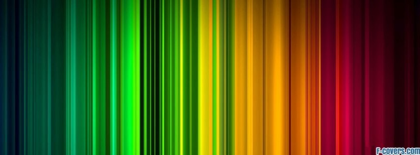 multicolor thin stripes pattern facebook cover