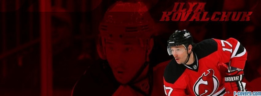 new jersey devils ilya kovalchuk facebook cover