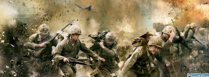 old war taking fire facebook cover