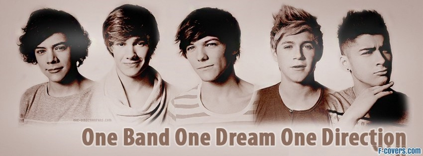 one direction one facebook cover