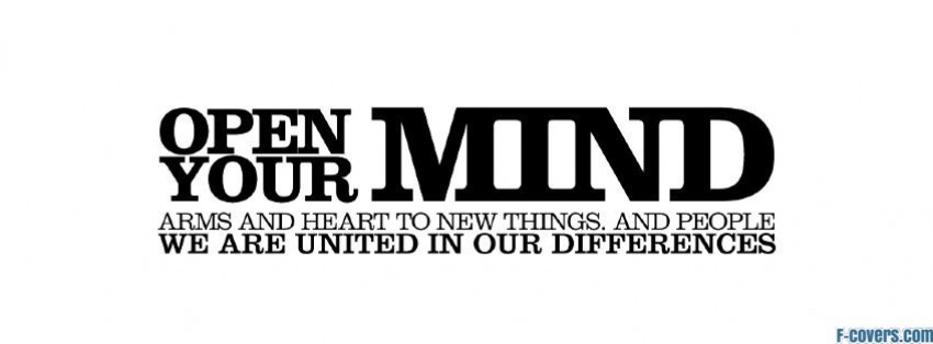 Open Your Mind Facebook Cover Timeline Photo Banner For Fb