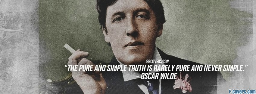 oscar wilde facebook cover