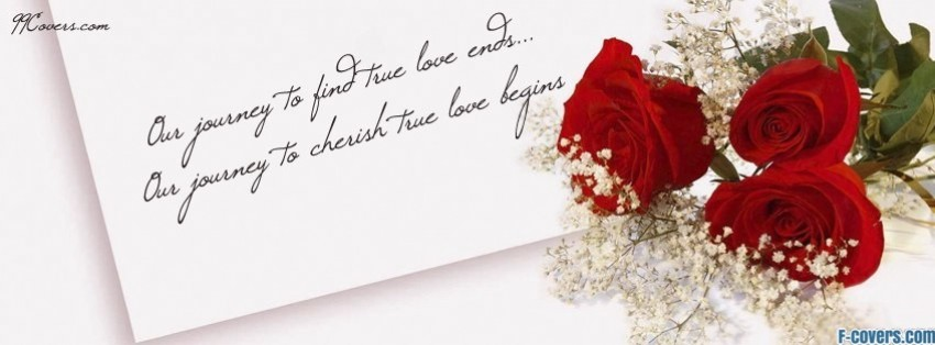 our wedding journey facebook cover