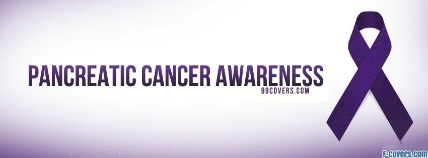 pancreatic cancer awareness facebook cover
