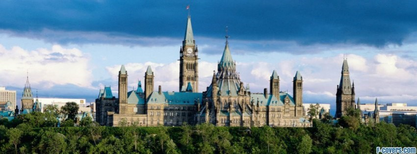 parliament building canada facebook cover