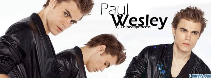 Facebook Paul Wesley Paul Wesley 3 Facebook Cover