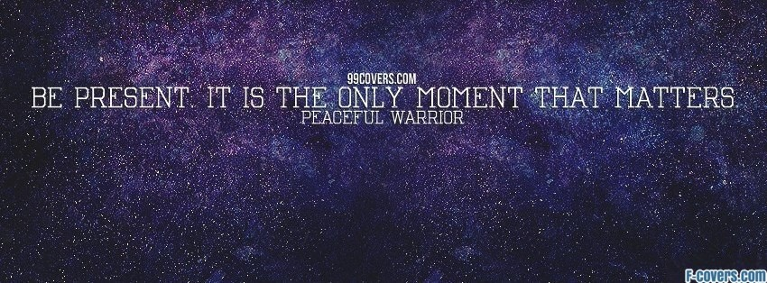 peaceful warrior 1 facebook cover