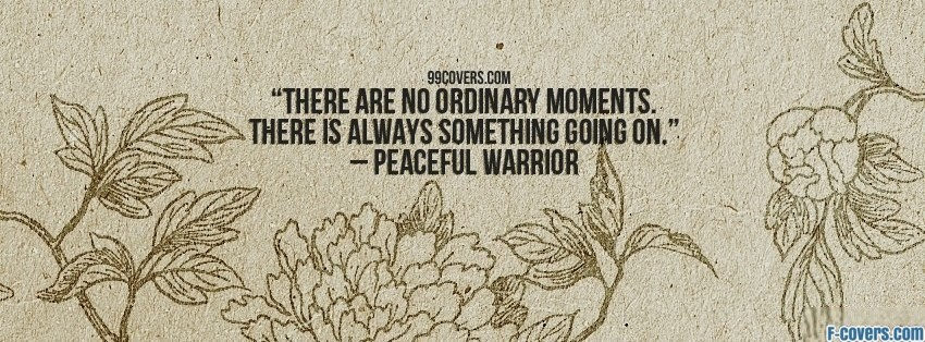 peaceful warrior 2 facebook cover