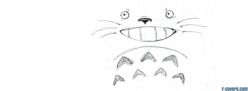 White Totoro Drawing Pencil Totoro Anime Drawing