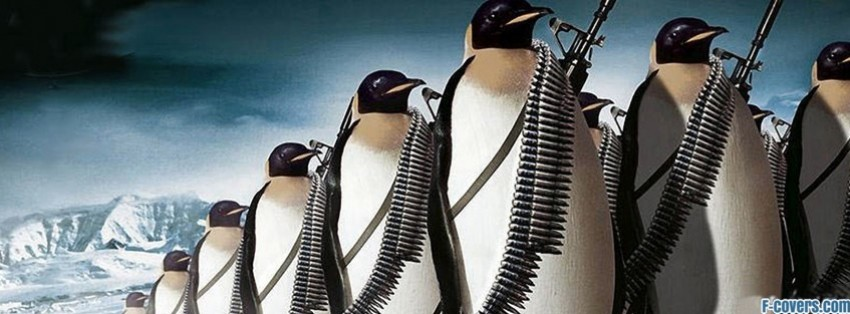 penguin army facebook cover