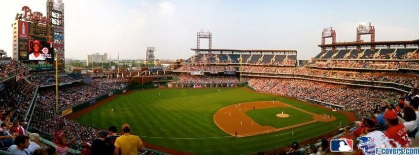philadelphia phillies stadium facebook cover