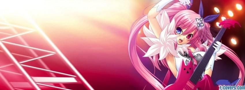 Anime Girl Facebook Cover Timeline Photo Banner For Fb
