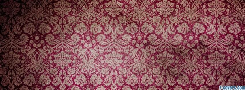 pink grundge floral facebook cover