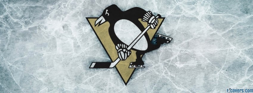 pittsburgh penguins ice logo facebook cover