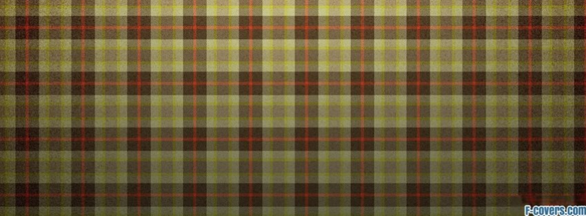 plaid texture pattern yellow brown red facebook cover