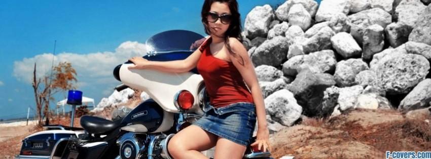 Police Harley Facebook Cover Timeline Photo Banner For Fb