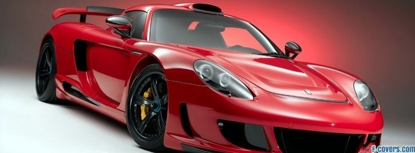 porsche carrera gt 415 facebook cover