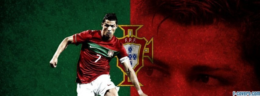 portugal christiano ronaldo facebook cover