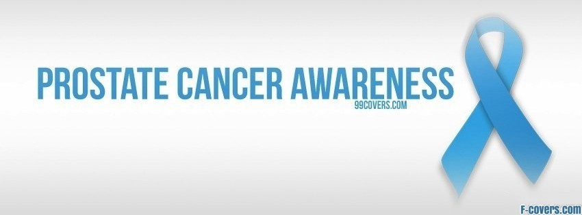 prostate cancer awareness facebook cover