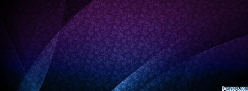 purple blue floral facebook cover timeline photo banner for fb