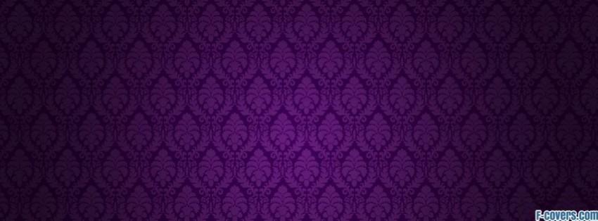 purple floral 1 facebook cover timeline photo banner for fb