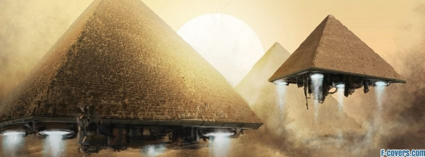 pyramids fantasy art facebook cover