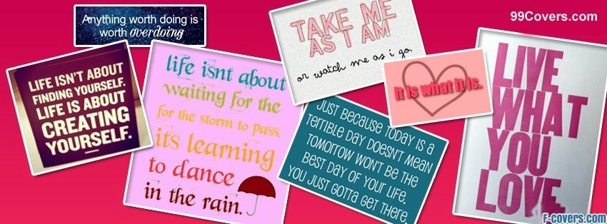 Book Cover Collage Quote : Cute quotes for facebook timeline quotesgram