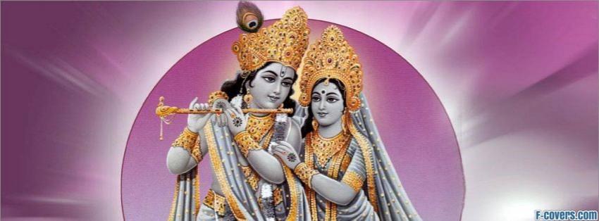 radha krishna facebook cover