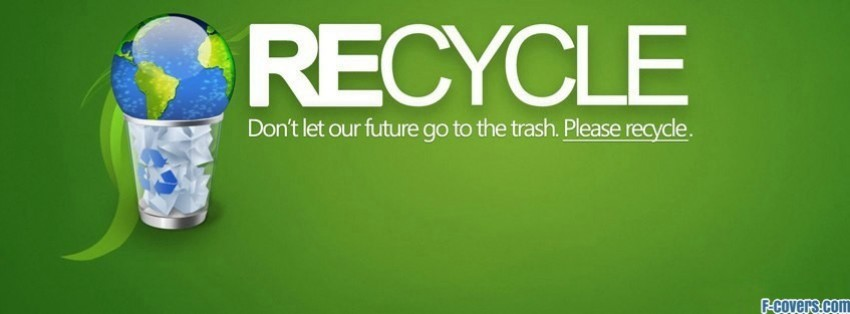 recycling facebook cover