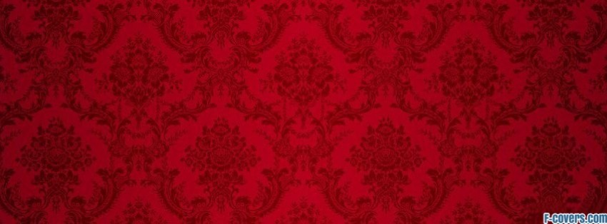 red and black floral pattern 1 Facebook Cover timeline photo ...