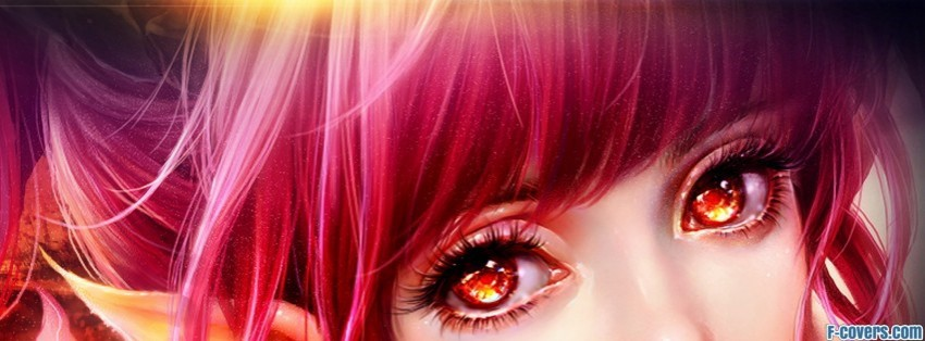 red redheads artwork facebook cover