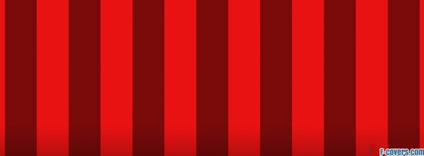 red stripes pattern facebook cover