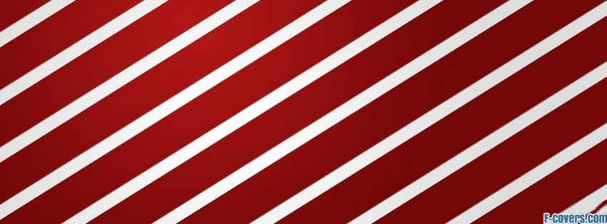 red white stripes pattern 1 facebook cover